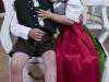 Modelfotos mit Kleinkindern Theresia und Florian mit Trachtenkleidern der Firma Gerberei Trenkwalder in Soell; MODEL RELEASED; 2010-07-19; im Bild (v.l.n.r.): ; Foto: Roland Muehlanger