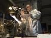 PORTRAIT REPORTAGE HANDWERK - BERND WEINMAYER GLASKUNST MIT PLASMATECHNIK IN MARIASTEIN